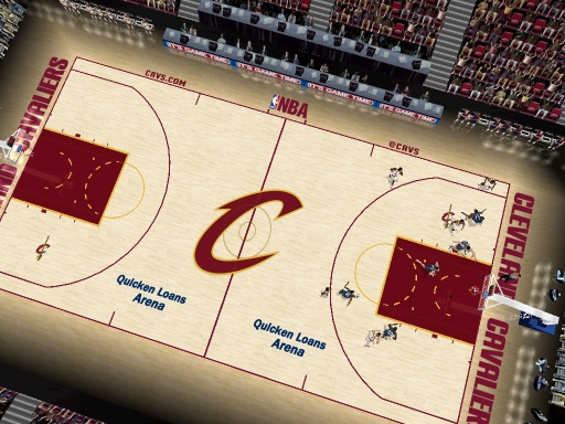 Cleveland Cavaliers 2012/2013 Court Patch