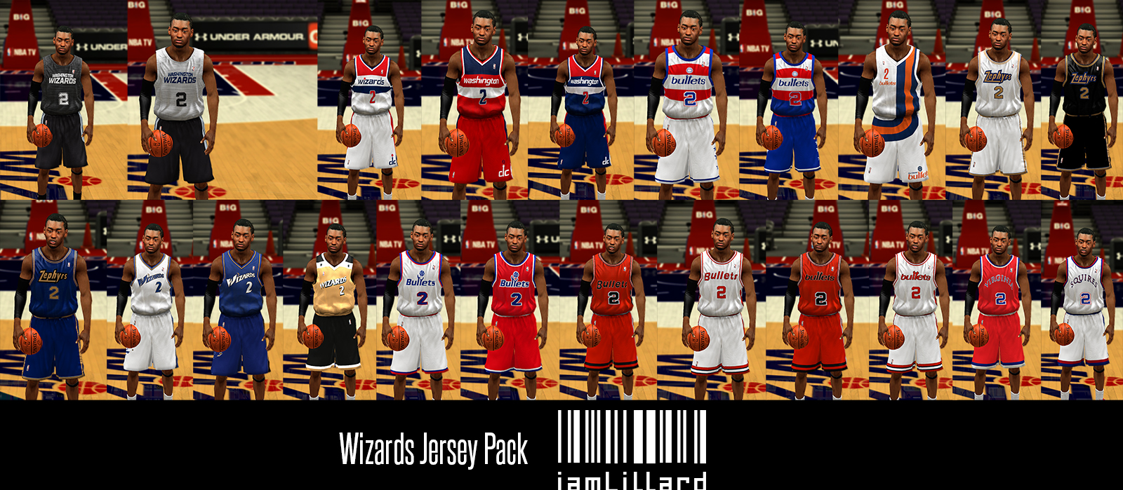 UJP Washington Wizards Jersey