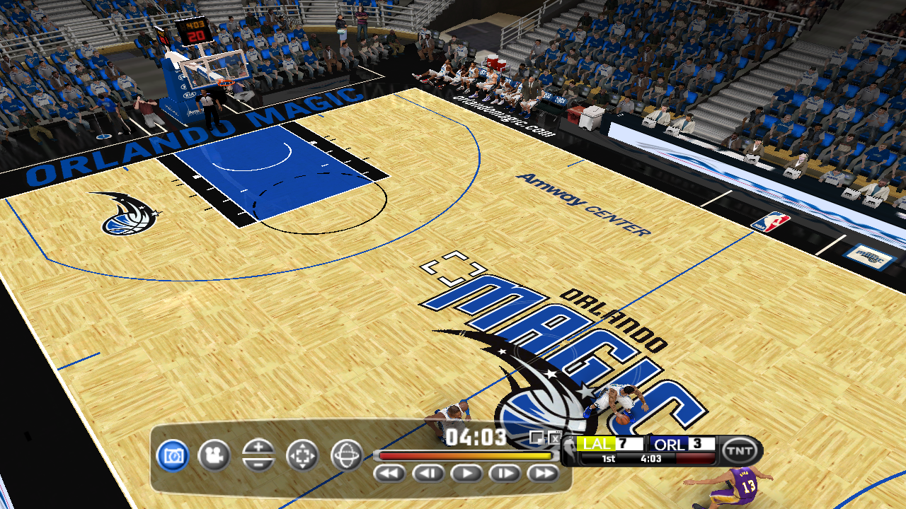 Orlando Magic 2012/2013 Court Patch