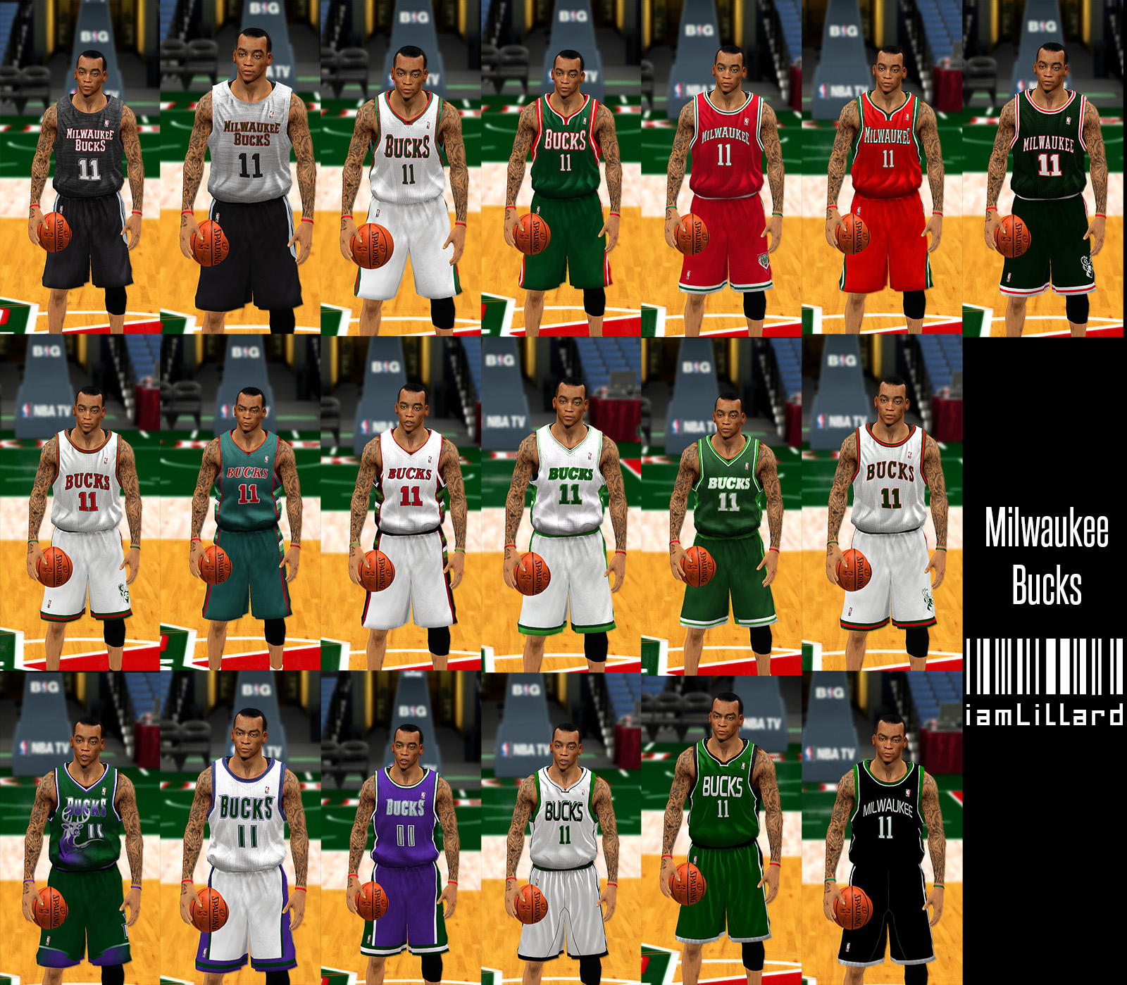 UJP Milwaukee Bucks Jersey
