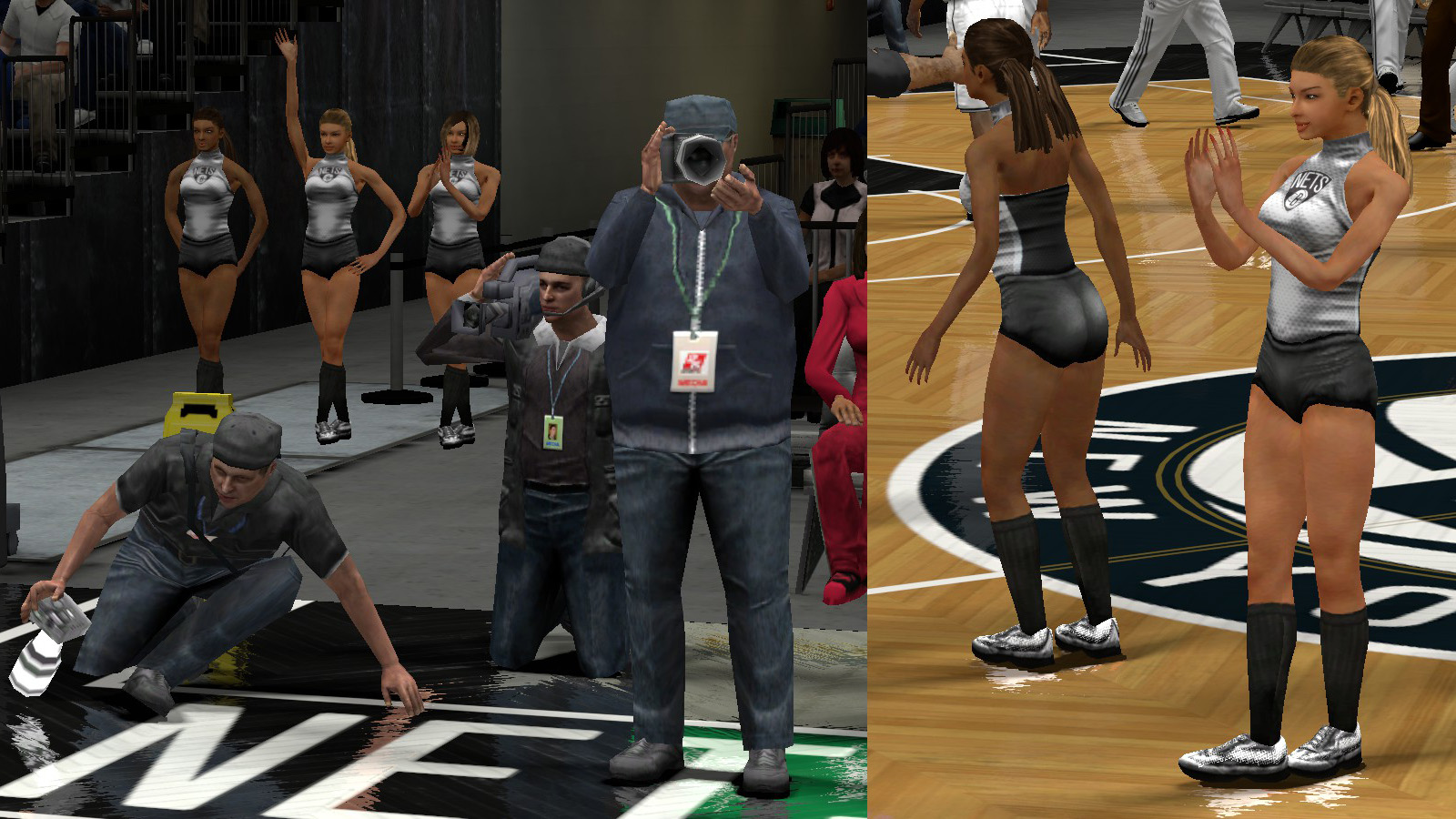 T-Neck's Retextured 2K13 Sideline Characters