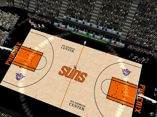 Phoenix Suns 2012/2013 Court Patch