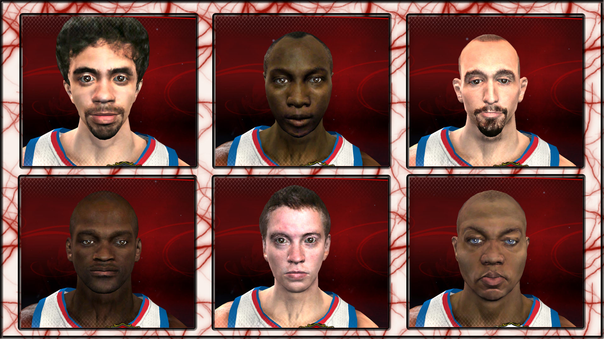 2K11 to 2K13 Conversion - Celeb Pack 1