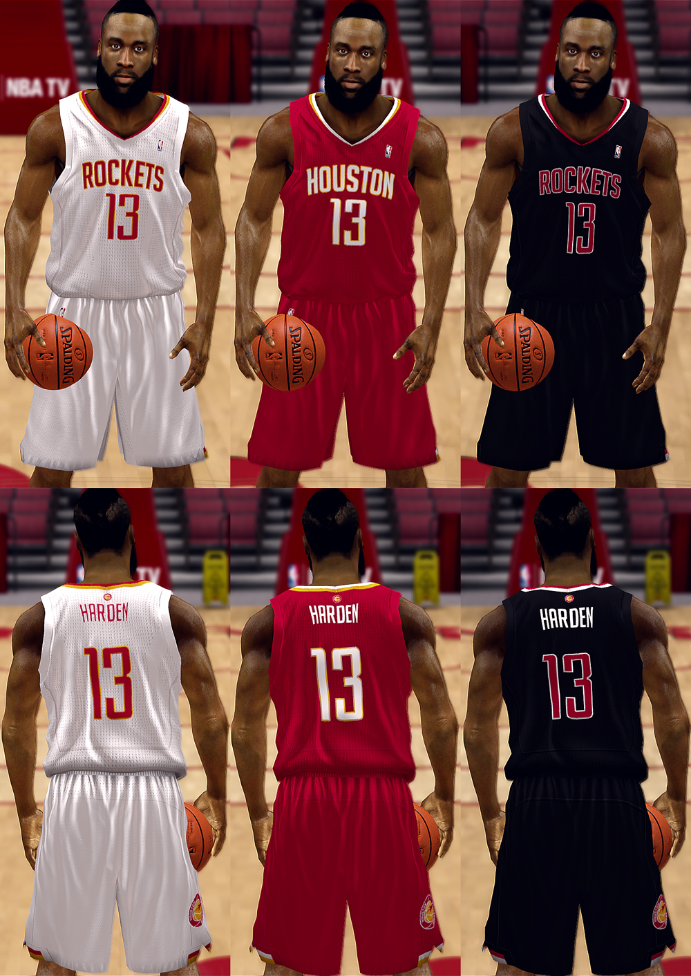 Houston Rockets Fictional Jersey