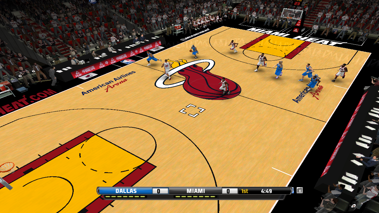 Miami Heat 2012/2013 Court Patch