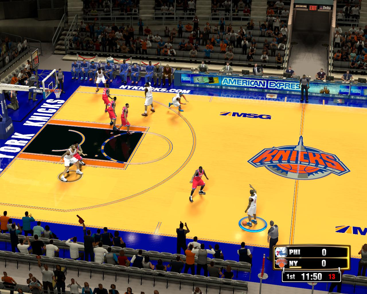 New York Knicks Fictional Court