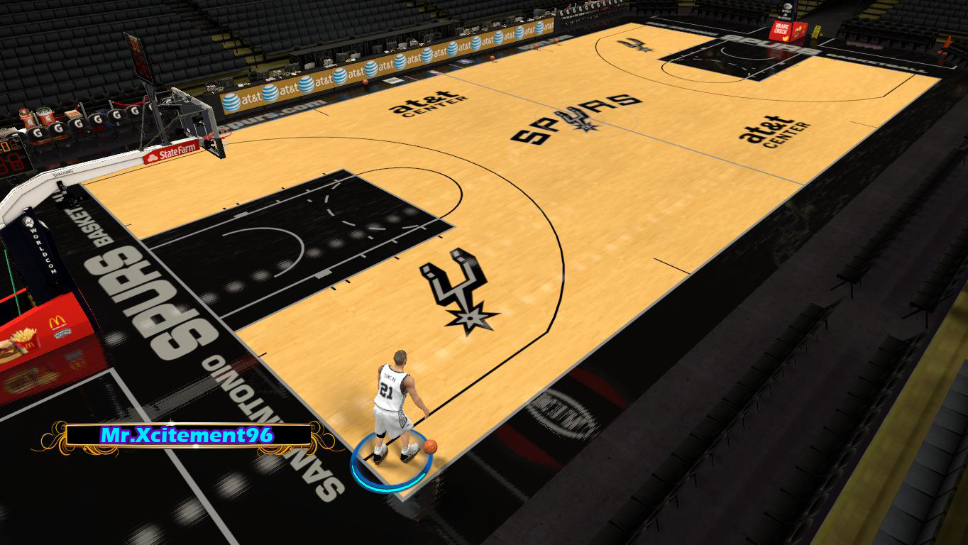 San Antonio Spurs Court