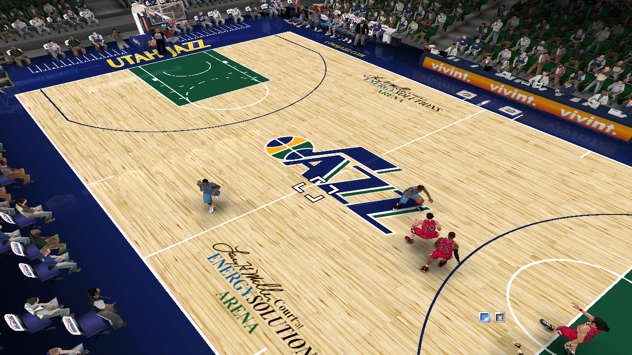 Utah Jazz 2012/2013 Court Patch