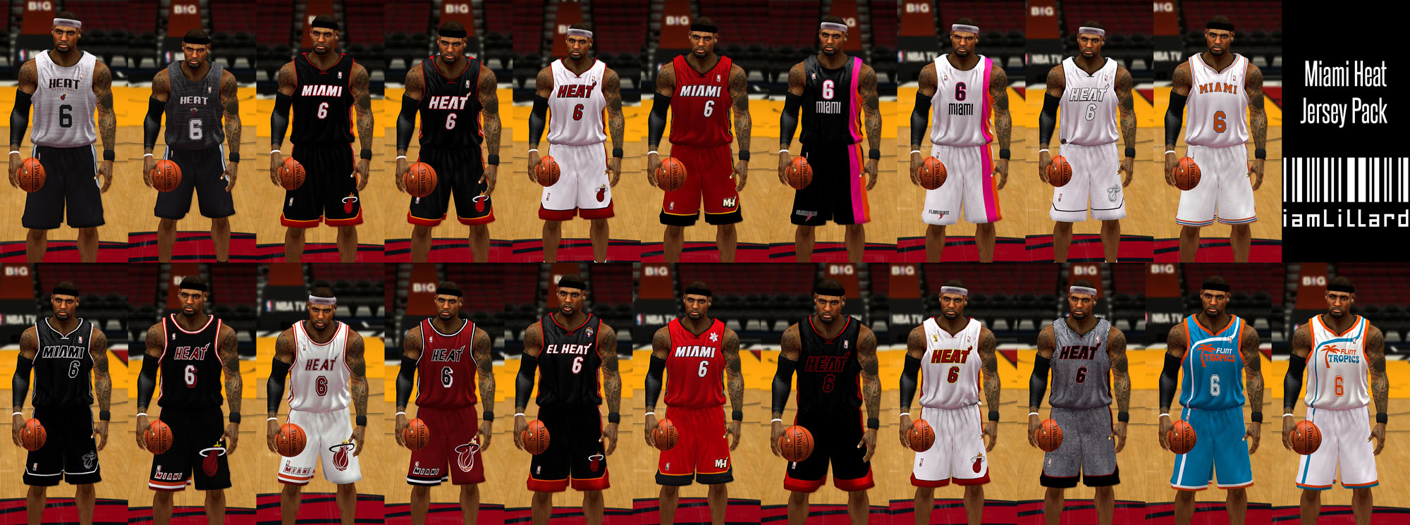 619c2147f07 ... Jersey - NBA 2K14 at ModdingWay NLSC Forum • iamLillard - bucks court  ...