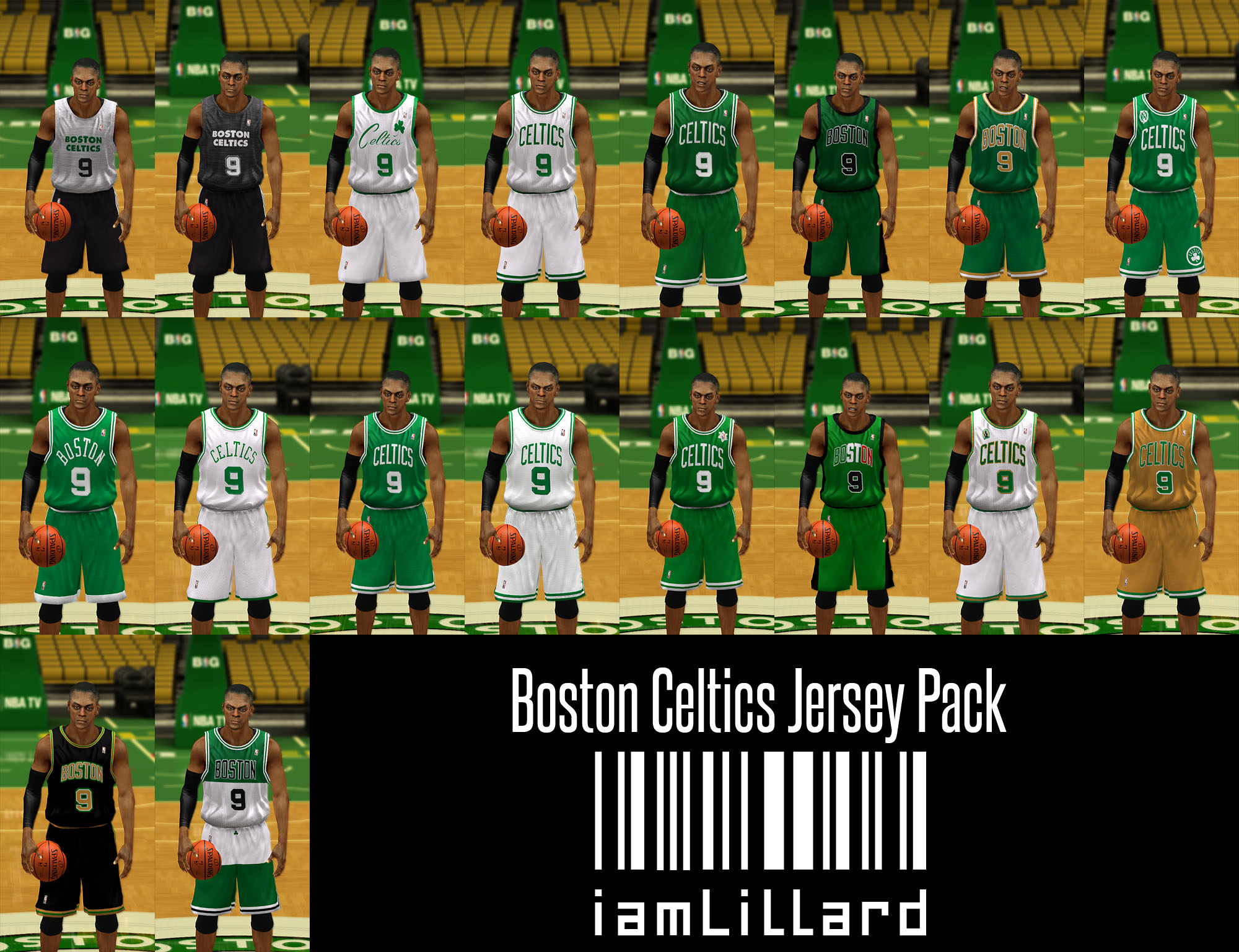 UJP Boston Celtics Jersey