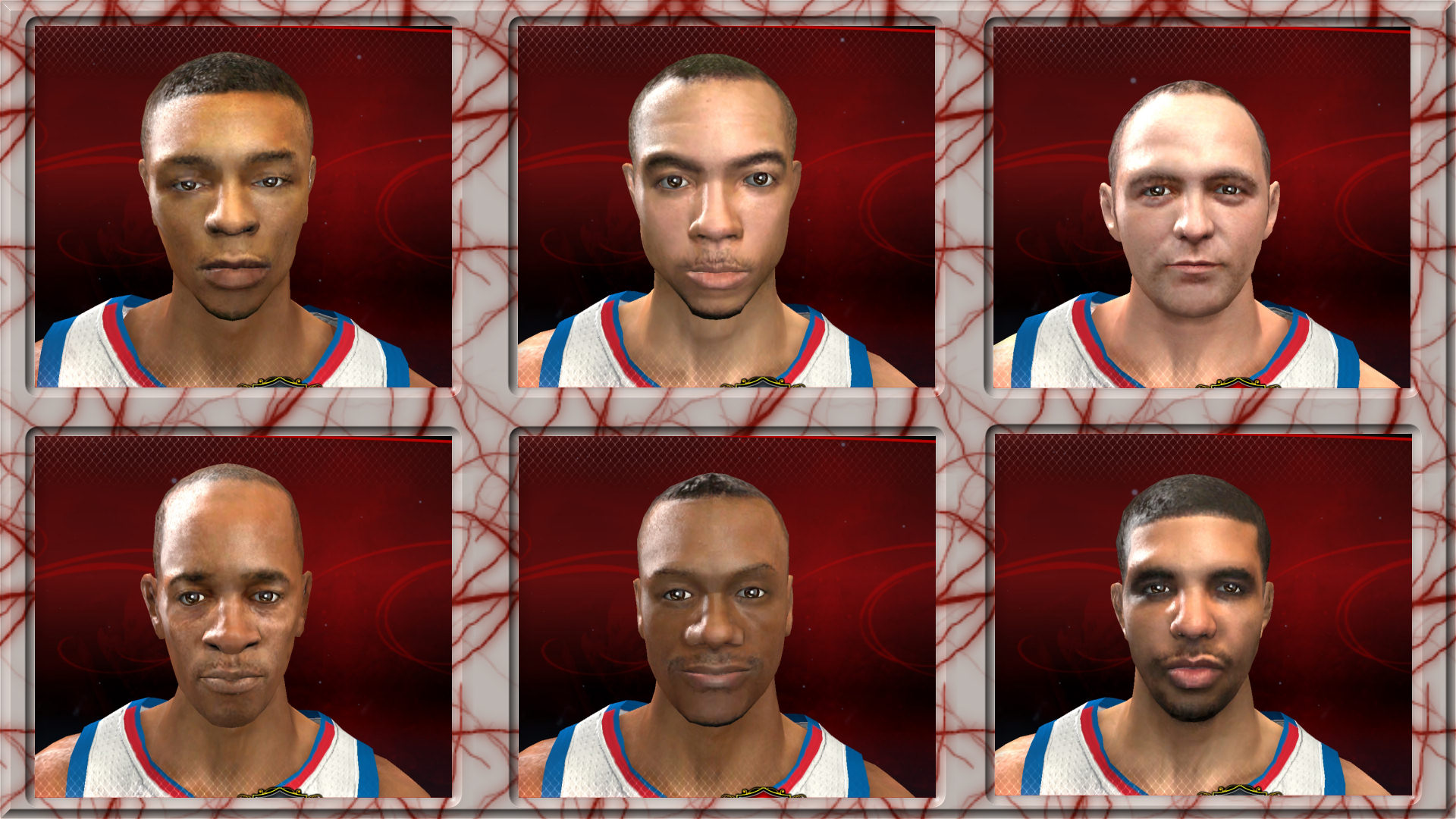 2K11 to 2K13 Conversion - Celeb Pack 2