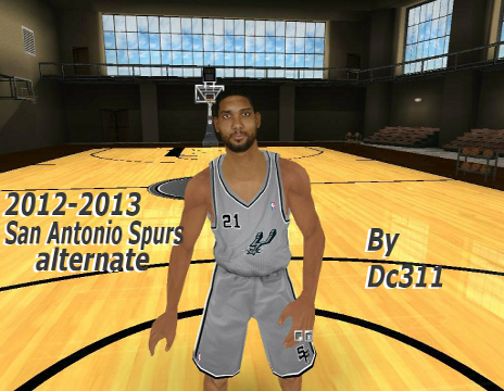 San Antonio Spurs 2012/2013 Alternate Jersey Patch