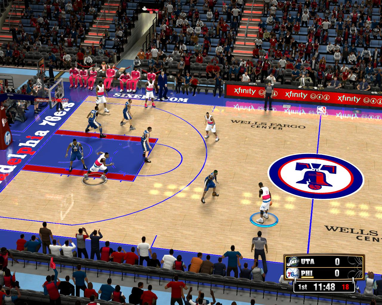 Philadelphia 76ers Fictional Court