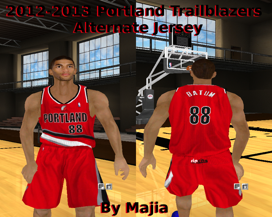 Portland Trailblazers 2012/2013 Alternate Jersey Patch