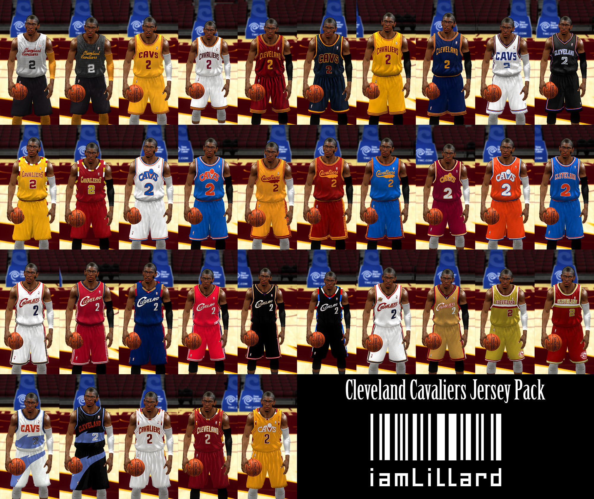 UJP Cleveland Cavaliers Jersey