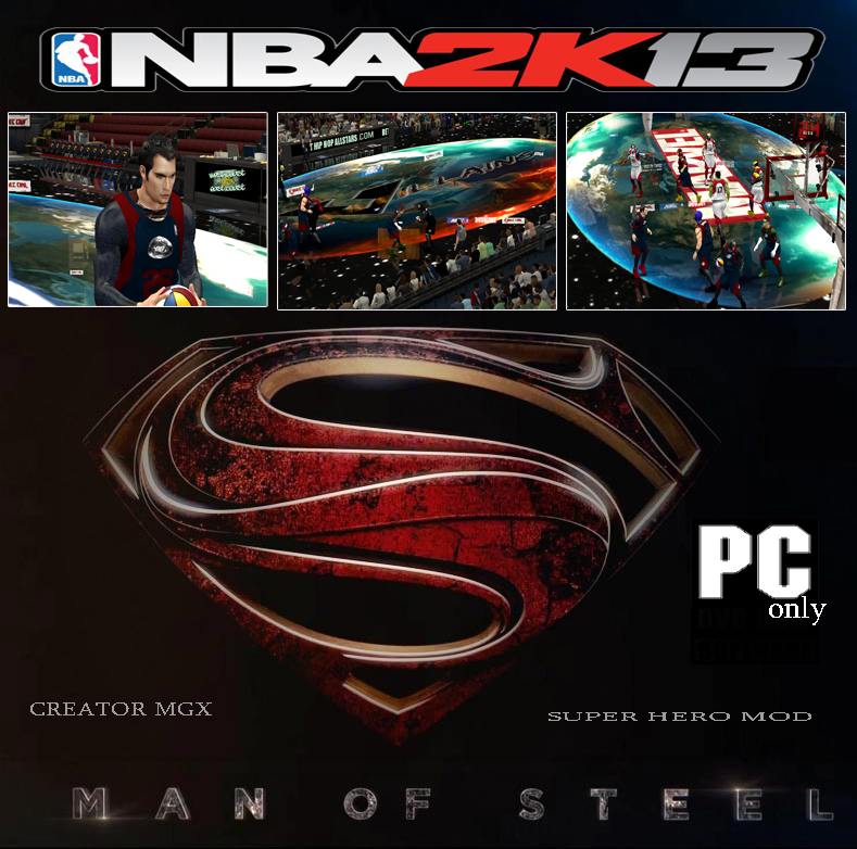 MGX SUPER HERO MOD - MAN of STEEL Edition
