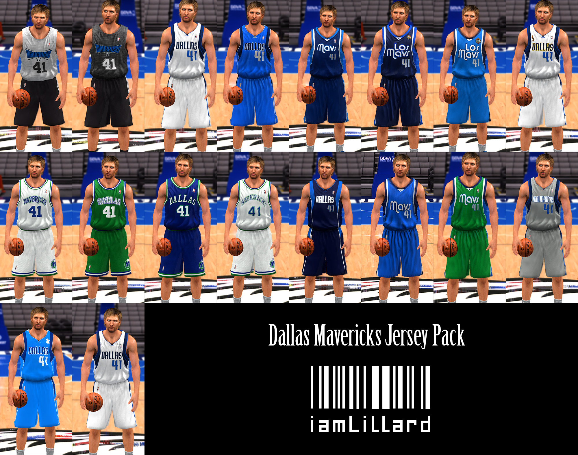 UJP Dallas Mavericks Jersey