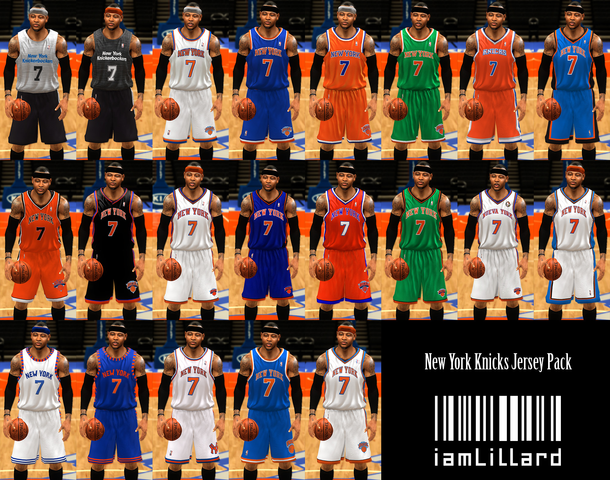 UJP New York Knicks Jersey