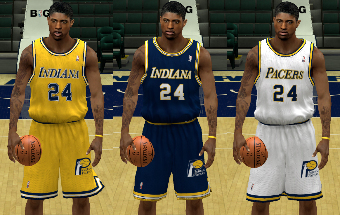 Indiana Pacers 1981-84 Jerseys