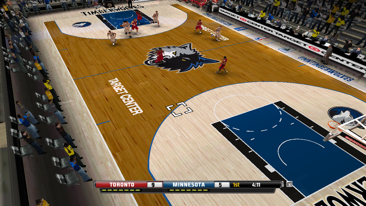 Minnesota Timberwolves 2012/2013 Court Patch