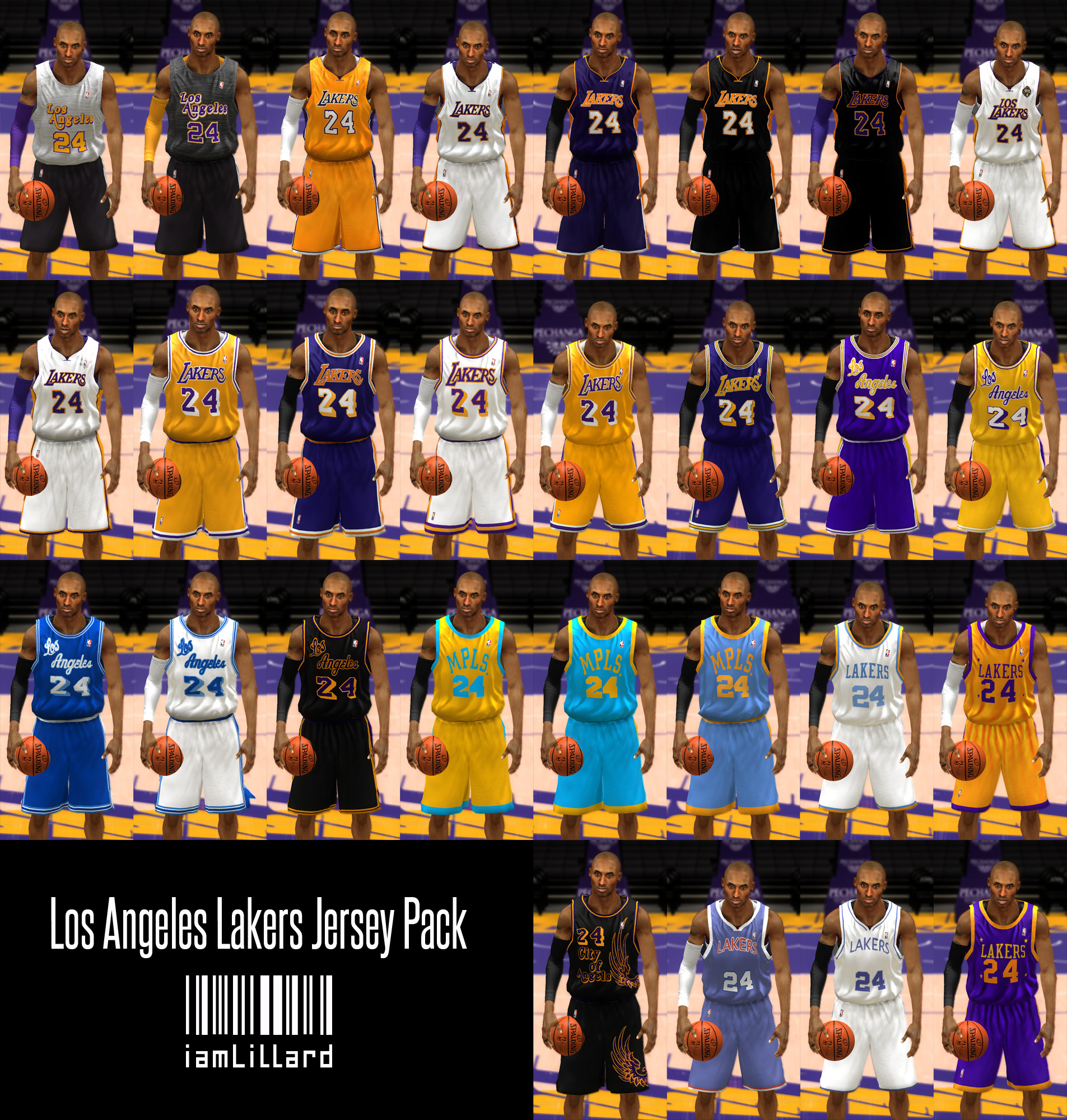 UJP Los Angeles Lakers Jersey
