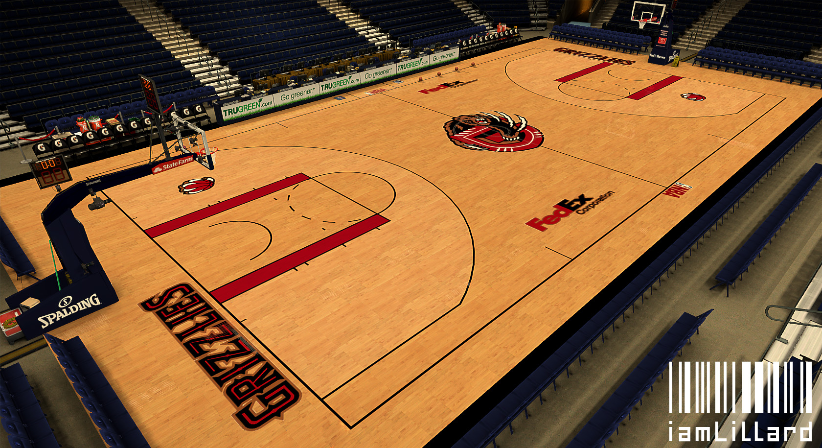 Memphis Grizzlies Fictional Court