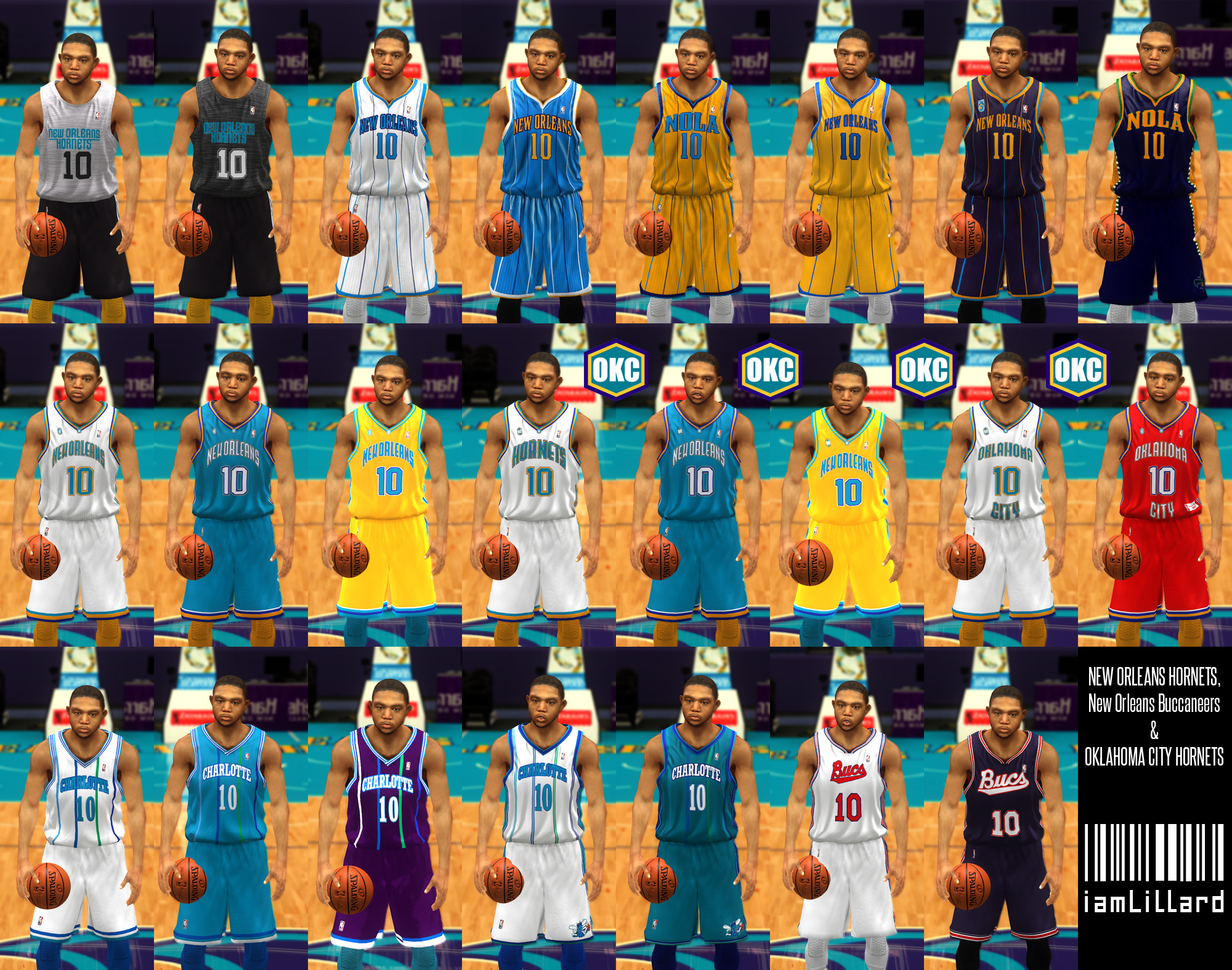 UJP New Orleans Hornets Jersey