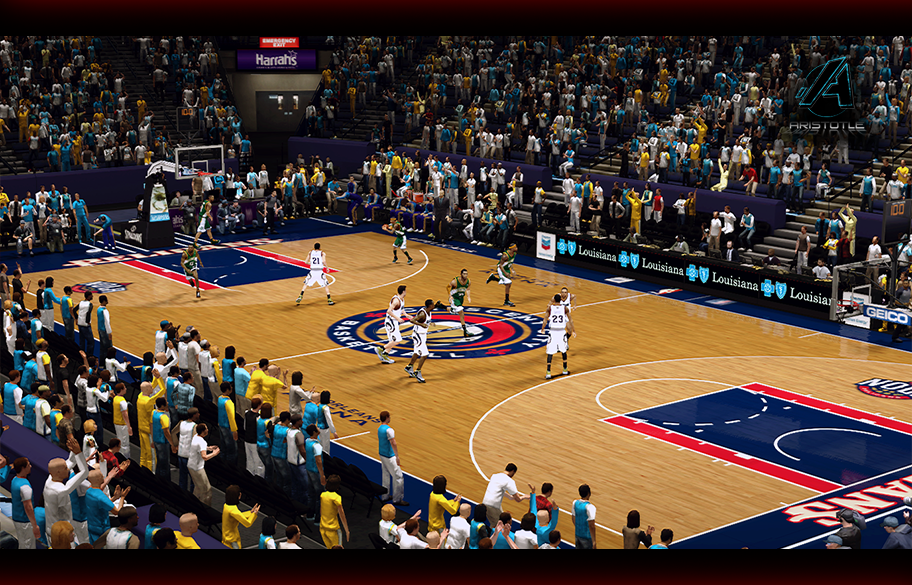 New Orleans Pelicans Fictional Court