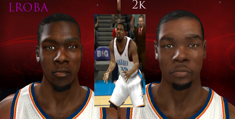 Kevin Durant Face