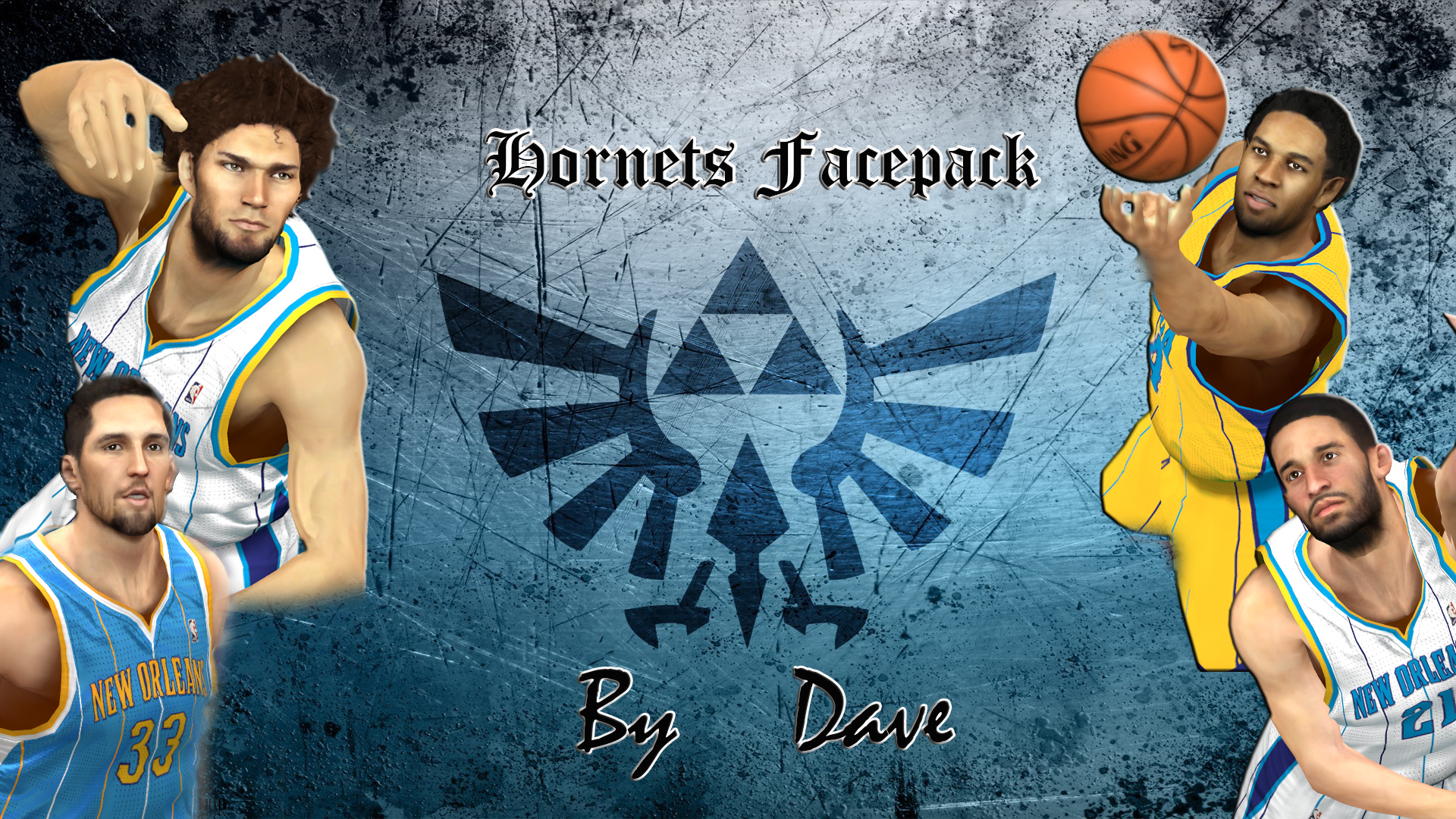 New Orleans Hornets Face Pack