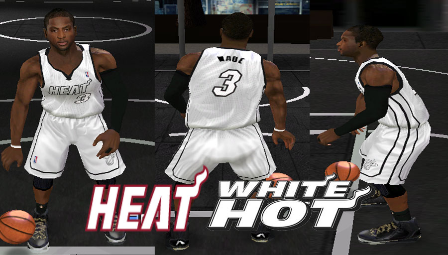 Miami Heat White Alternate Jersey Patch
