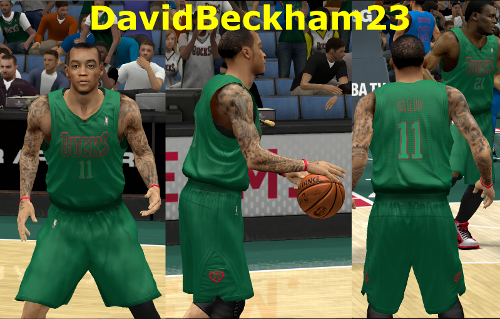 Milwaukee Bucks Christmas Jersey