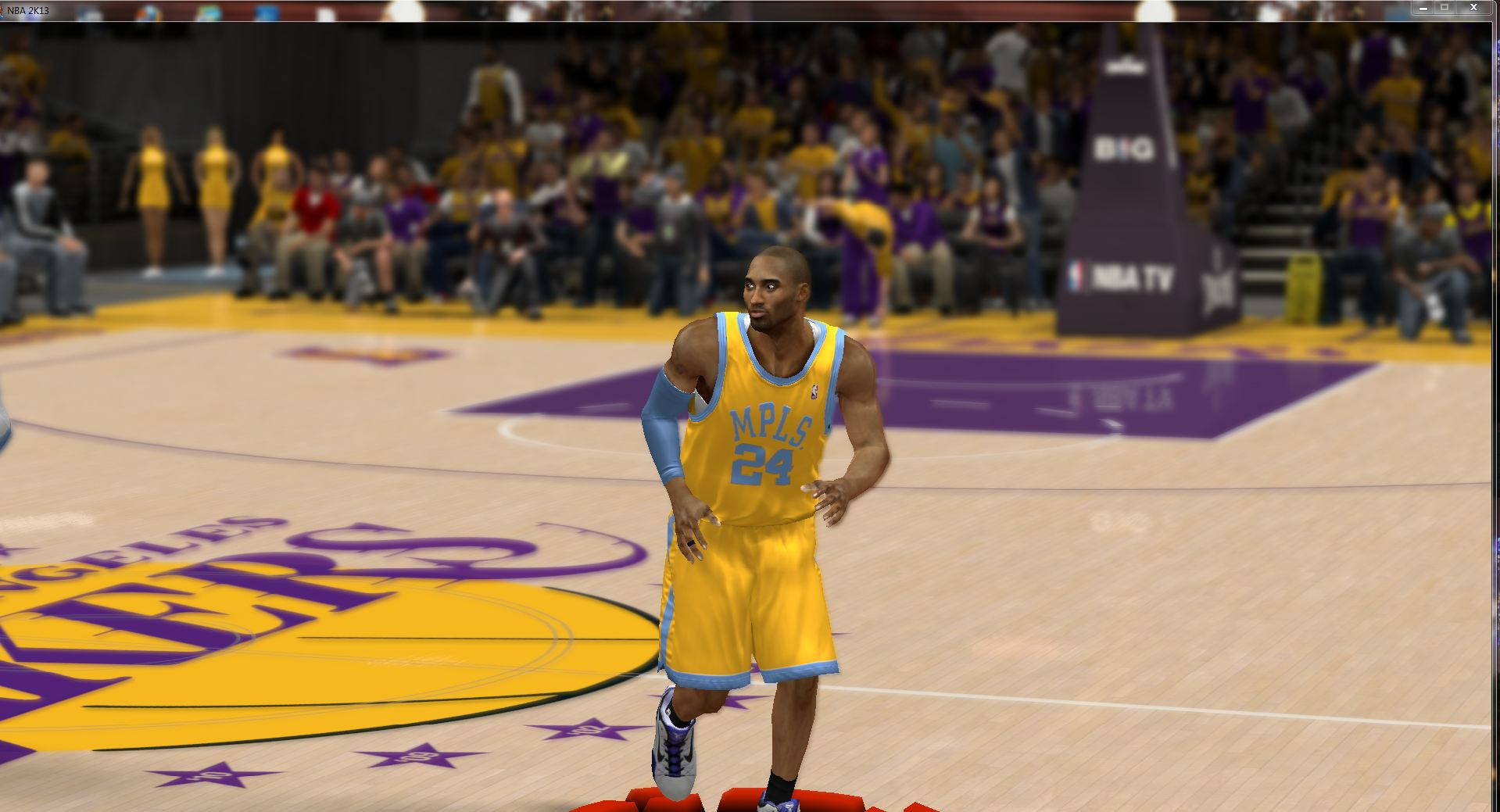 Los Angeles Lakers Retro (Minneapolis) Home Jersey
