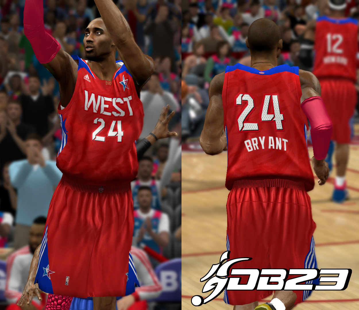 2013 West All-Stars Jersey
