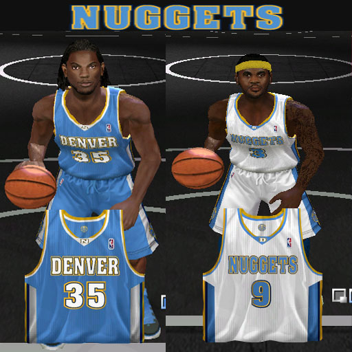 Denver Nuggets 2012/2013 Jersey Patch