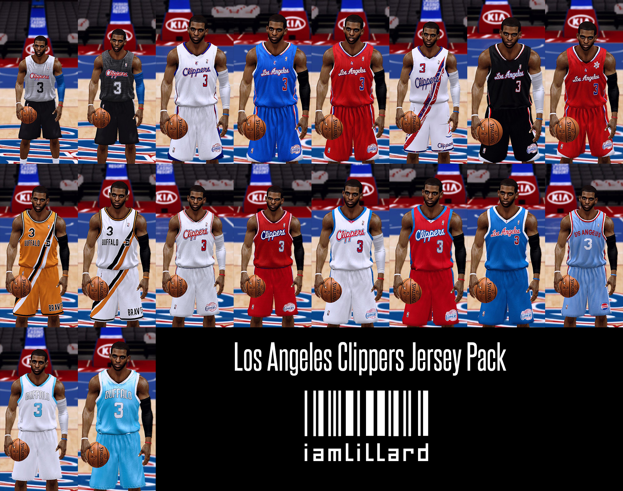 UJP Los Angeles Clippers Jersey