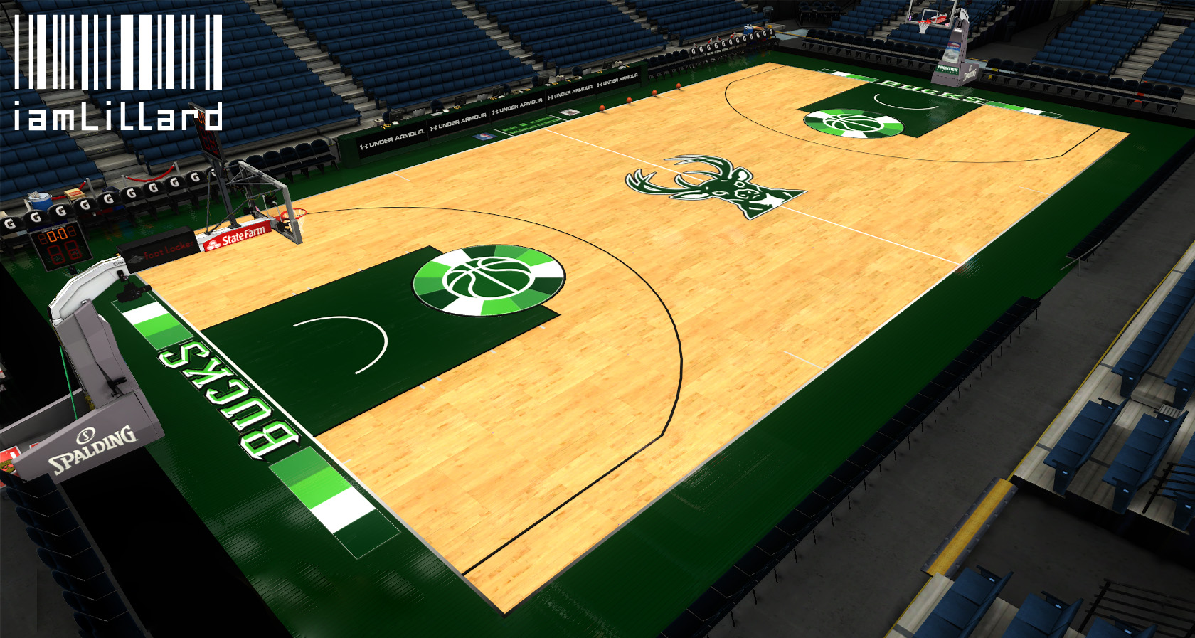 Nlsc Forum Downloads Milwaukee Bucks Irish Rainbow Court