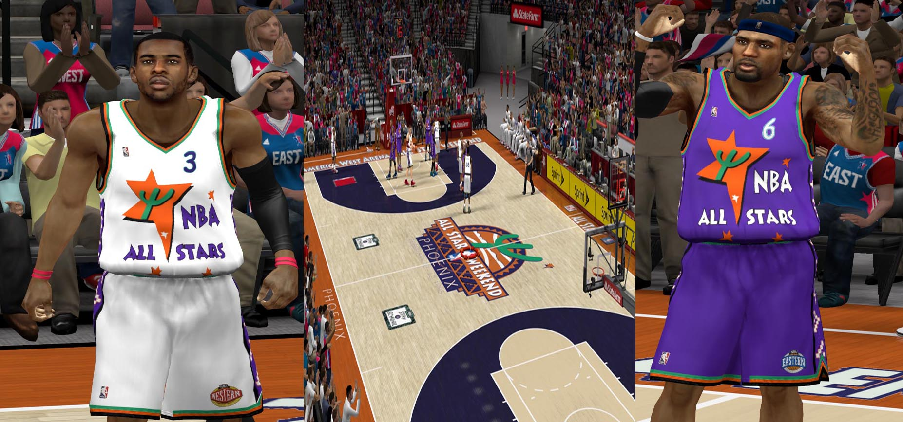 95 + 96 All Star Tribute Package 2K12
