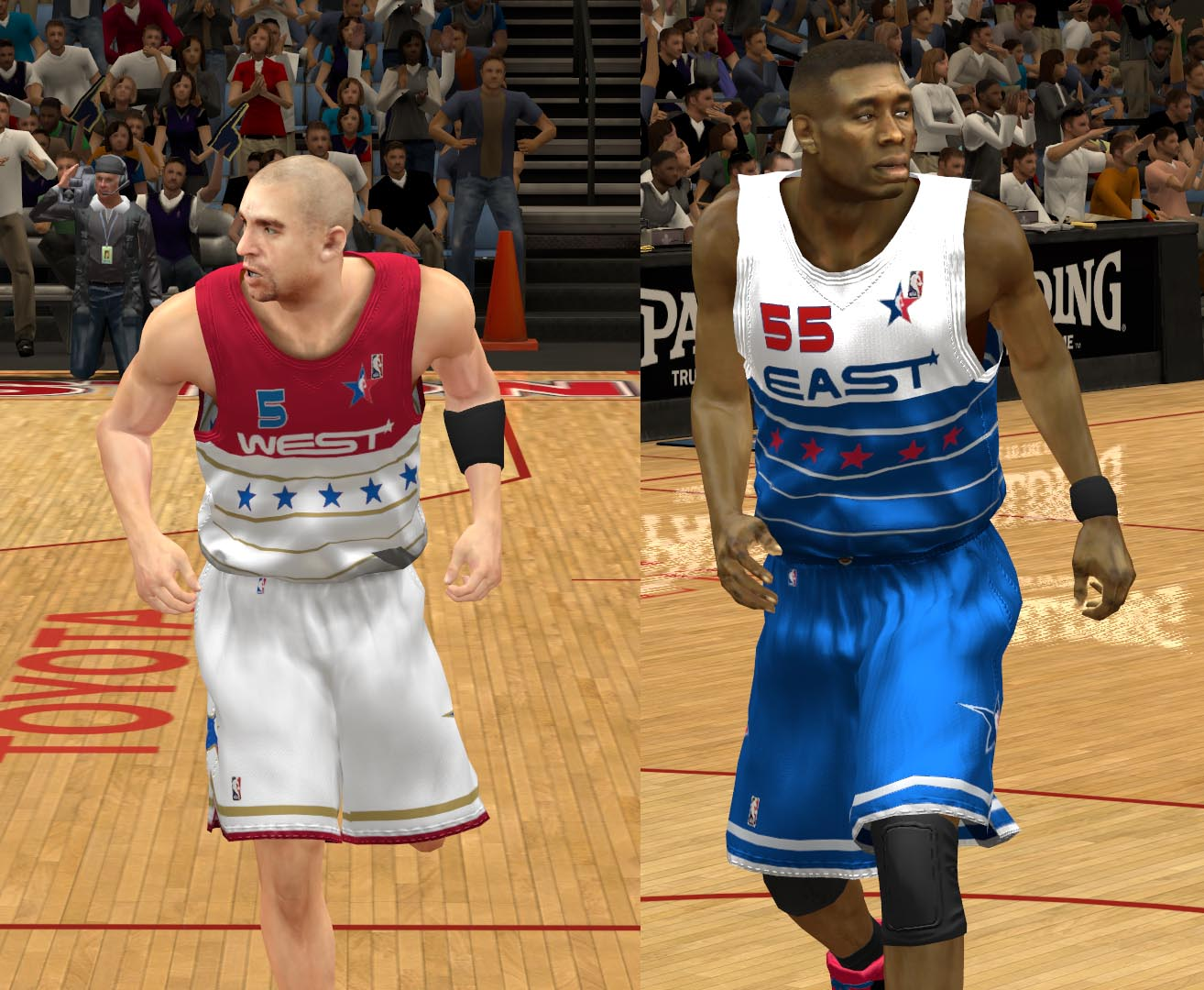 2006 All-Star Jerseys 2K13