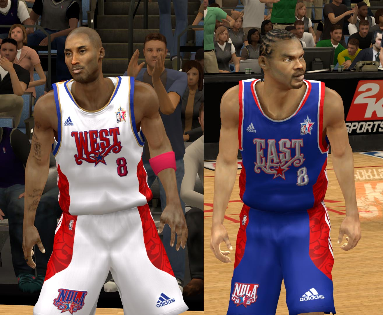 2008 All-Star Jerseys 2K13