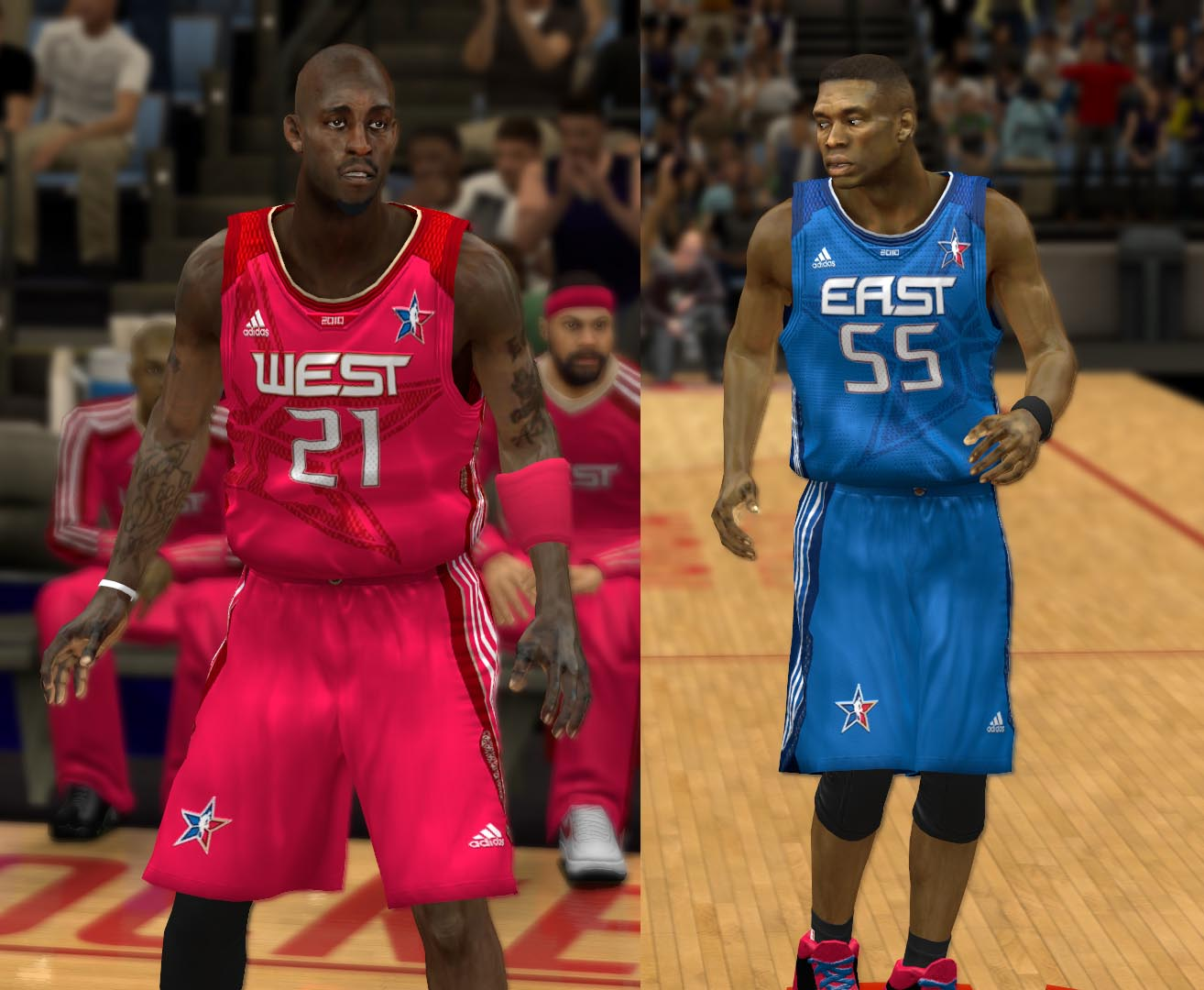 2010 All-Star Jerseys 2K13