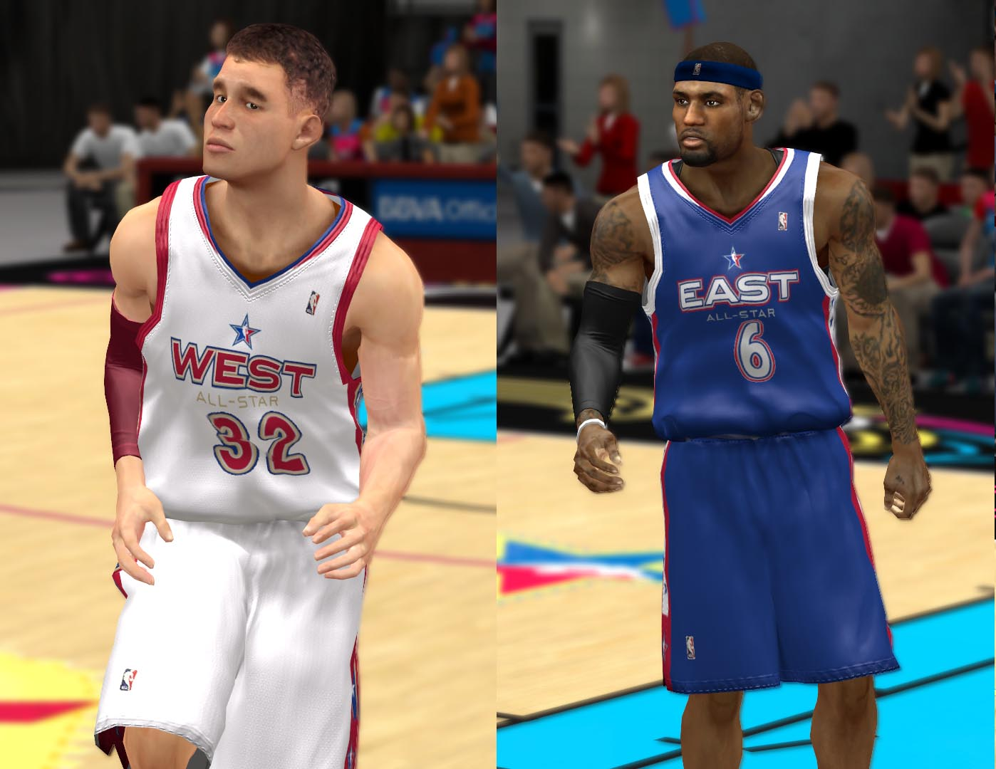 2005 All-Star Jerseys 2K13