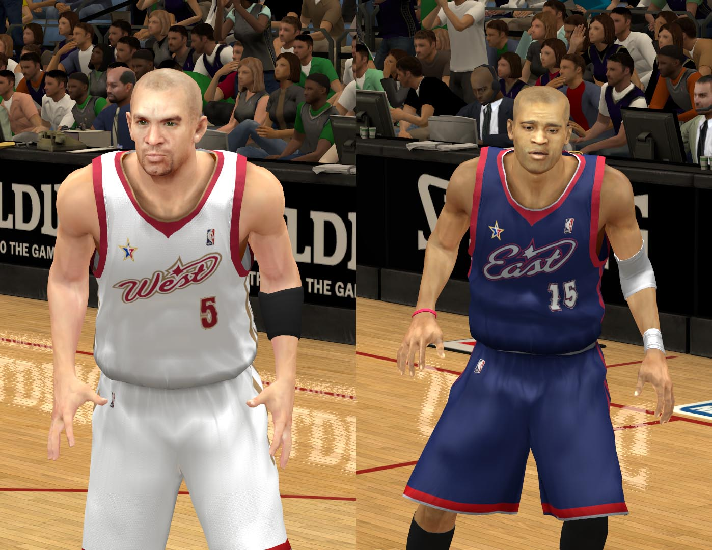 2007 All-Star Jerseys 2K13