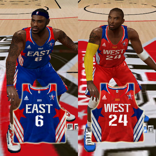 2013 All-Star Jersey Pack
