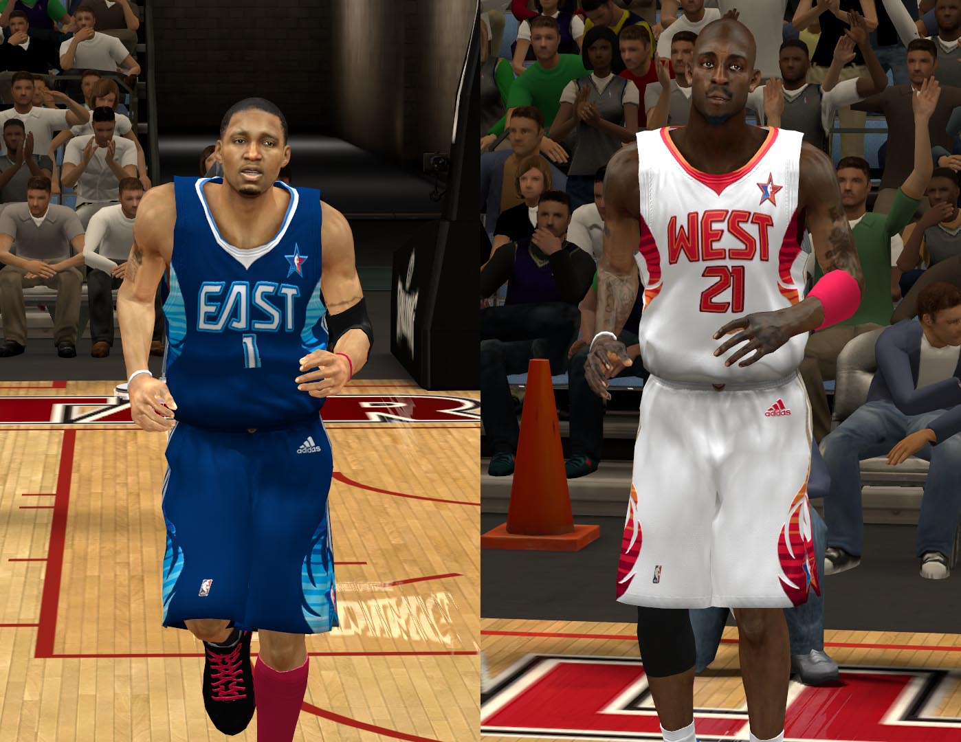 2009 All-Star Jerseys 2K13