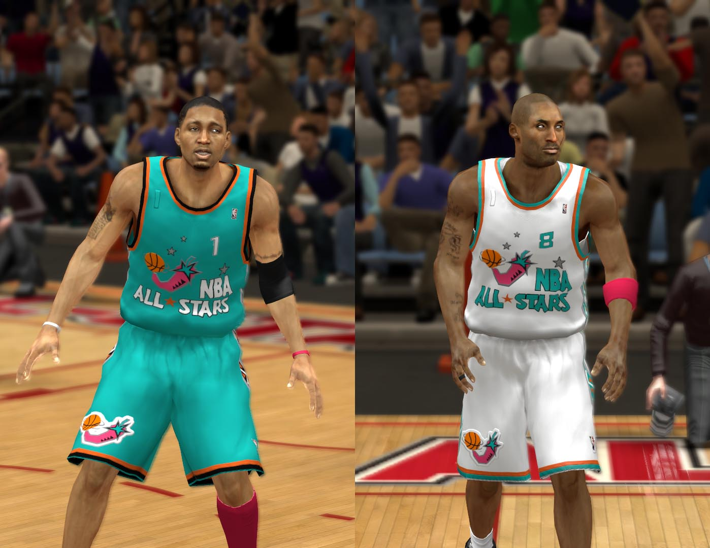 1996 All-Star Jerseys 2K13