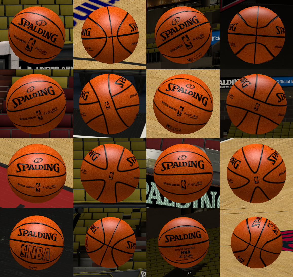 Spalding NBA Game Balls