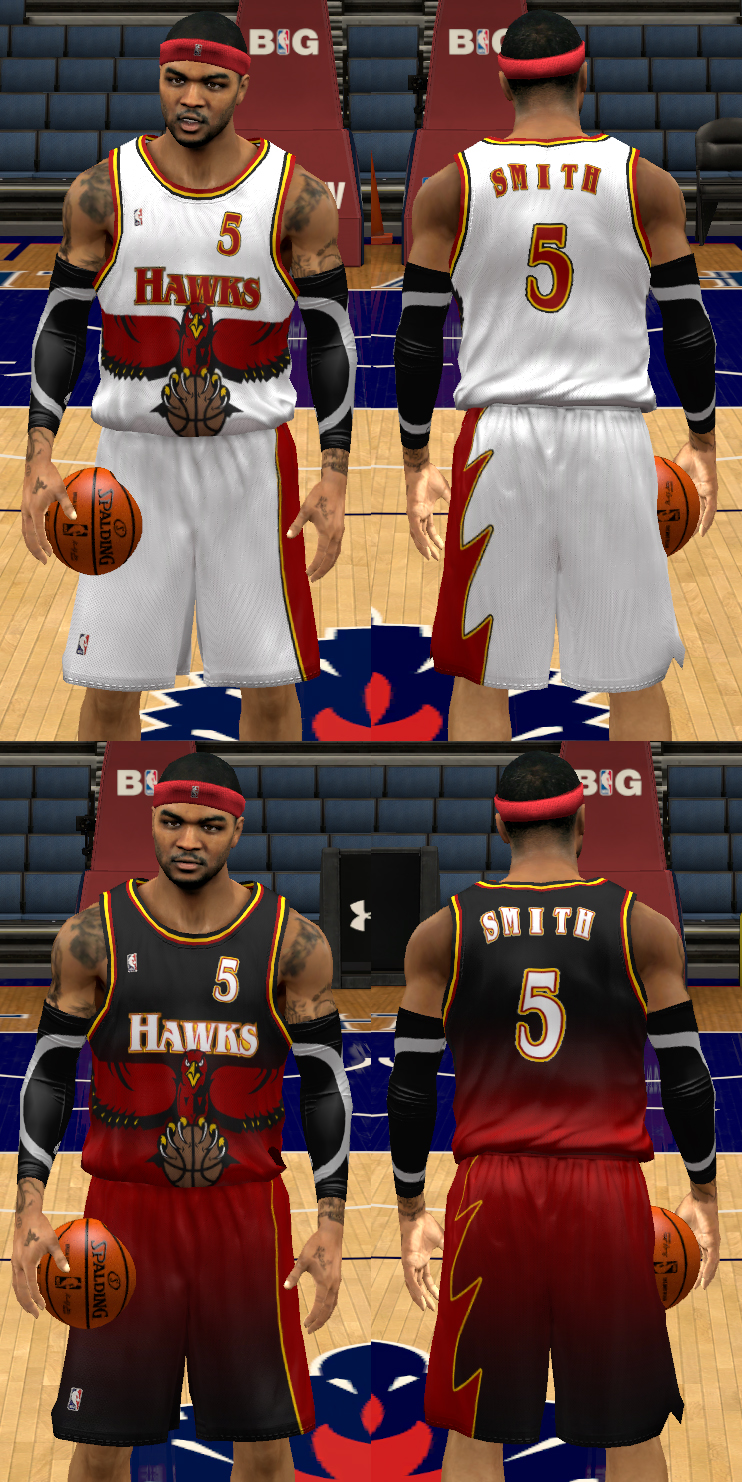 Atlanta Hawks 1995-99 Jerseys