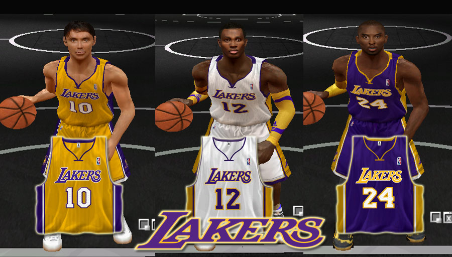 f263f452a5e NLSC Forum • Downloads - Los Angeles Lakers 2012/2013 Jersey Pack