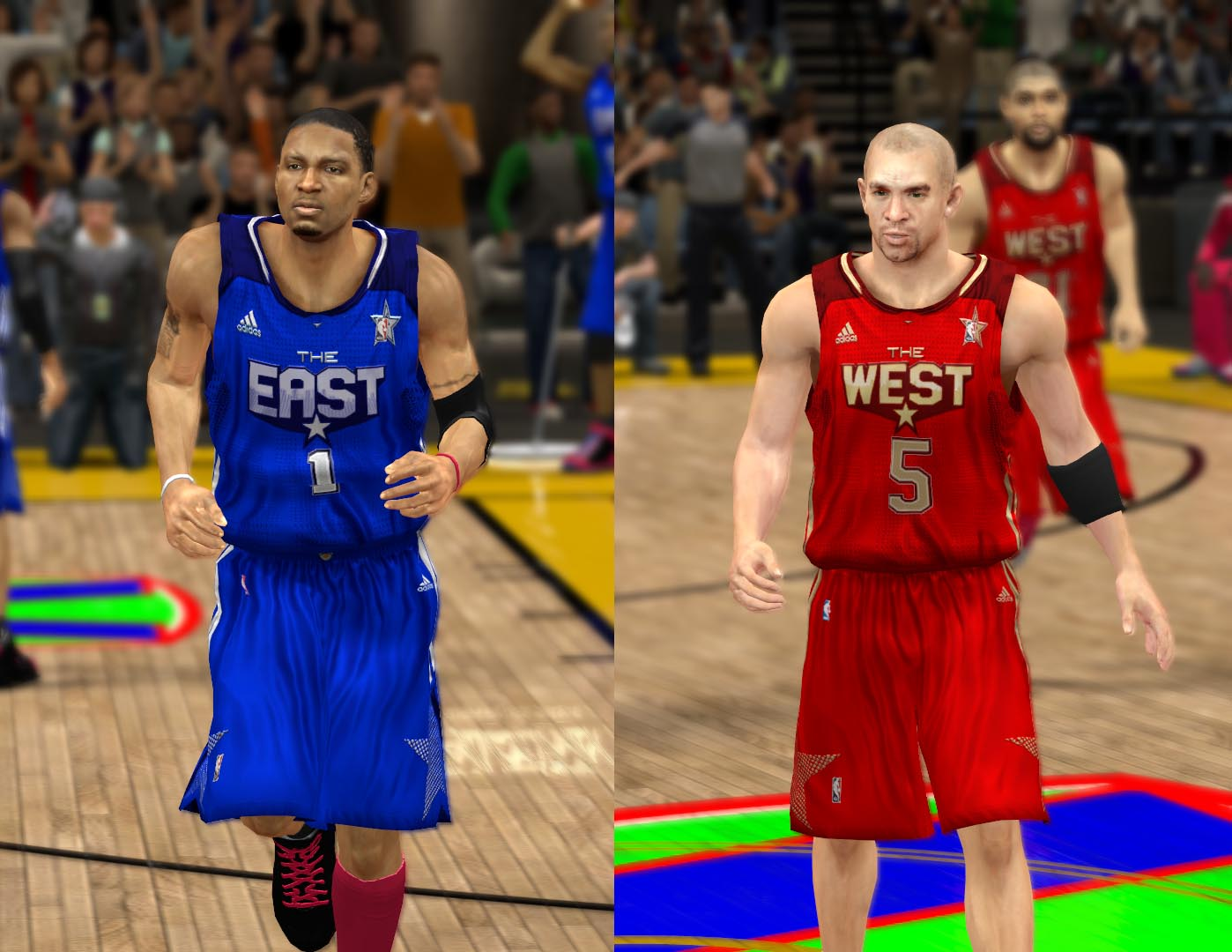 2011 All-Star Jerseys 2K13